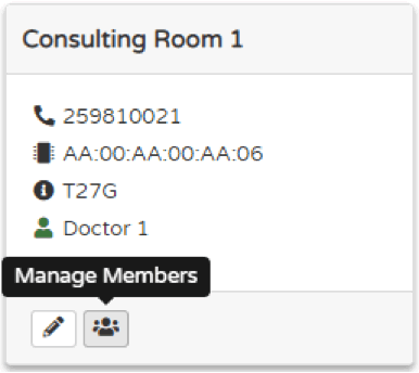 Manage Members Button